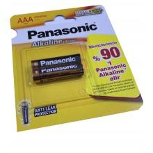 PANASONIC INCE PIL ALKALINE POWER 2 LI KARTELA