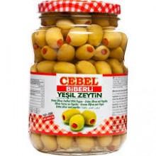 CEBEL BIBERLI YESIL ZEYTIN 900 GR